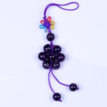 紫晶七星阵饰物91001123