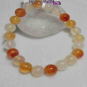 红玛瑙圆形手链91001088