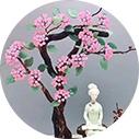 天然水晶宝树