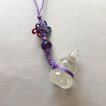 白晶葫芦饰物(中)91000231
