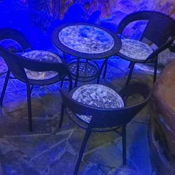 巴西(BRA)水晶矿提纯去痔养生藤制家私(1台3椅)35000311