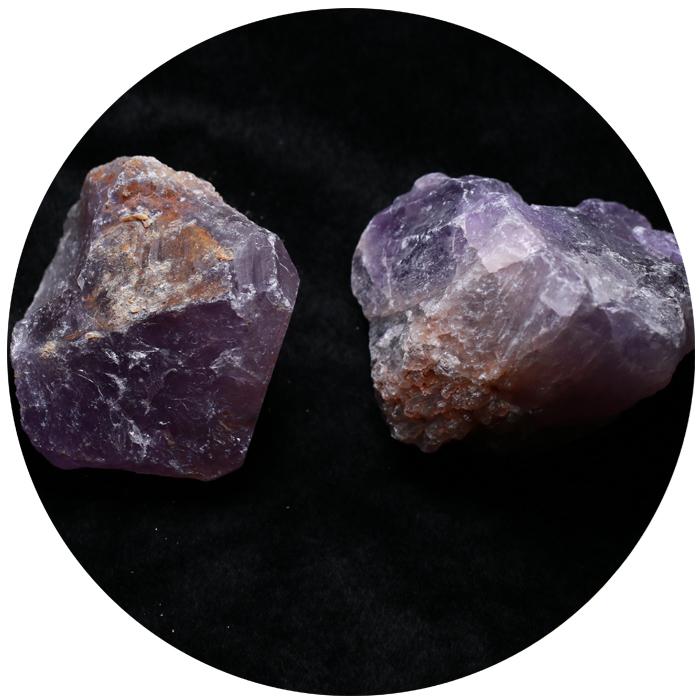 天然水晶矿石