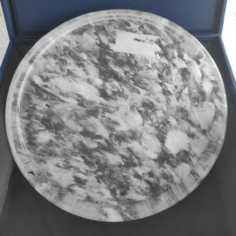 国产(CHN)水晶矿优化去痔原石板(圆)礼盒#2535200307