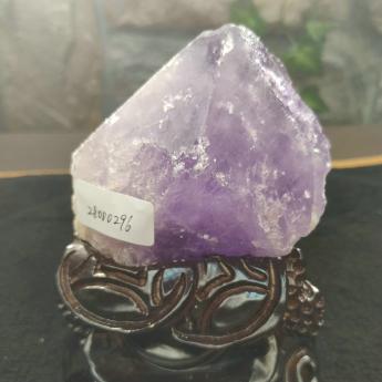 紫晶原矿石摆件(雕刻座)28000296