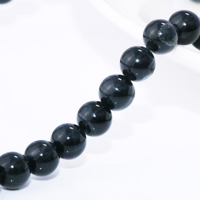 黑发晶圆形项链89200098