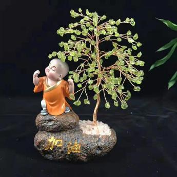 小沙弥佛系发财树(加油橄榄石)94000565