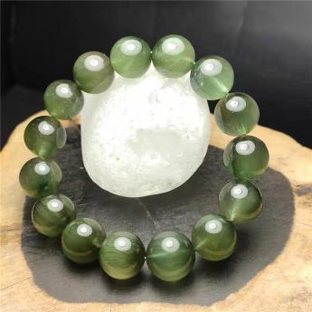 绿发晶圆形手链92110302