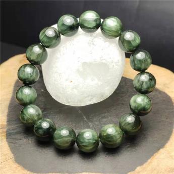 绿发晶圆形手链92110303