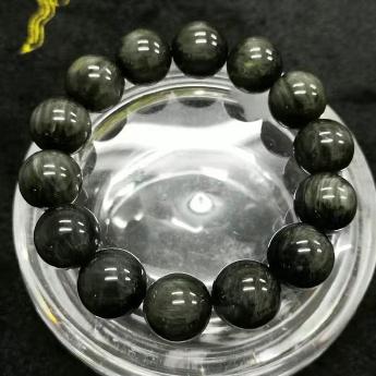 绿发晶圆形手链92109294