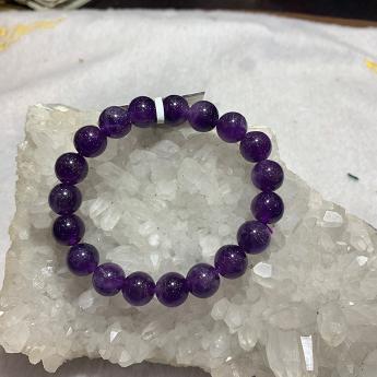 紫晶圆形手链51000387