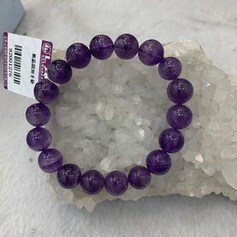 紫晶圆形手链92001276
