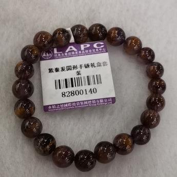 紫泰发圆形手链礼盒套装82800140