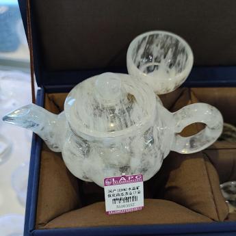 国产(CHN)水晶矿优化南瓜茶壶(1壶4杯礼盒#17)35103152