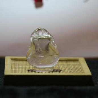 发晶宝瓶摆件  22003738