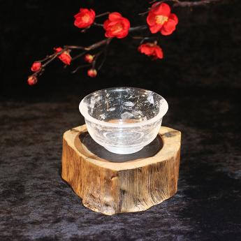 国产(CHN)水晶矿优化弧口碗  35204040