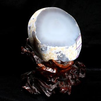 水胆玛瑙聚宝盆摆件  22100056