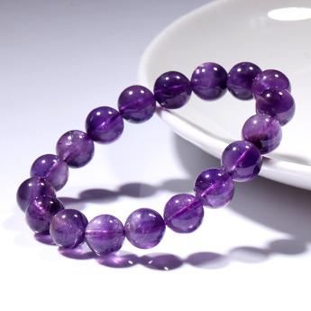 紫晶圆形手链82101127