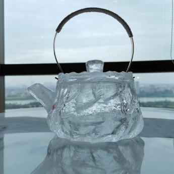 巴西(BRA)水晶矿提纯仿古原石茶壶 35102607