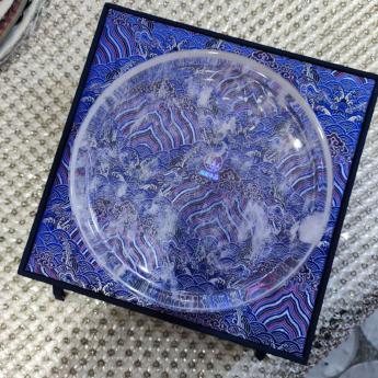 巴西(BRA)水晶矿提纯水晶盘(圆)(礼盒#25) 35103240