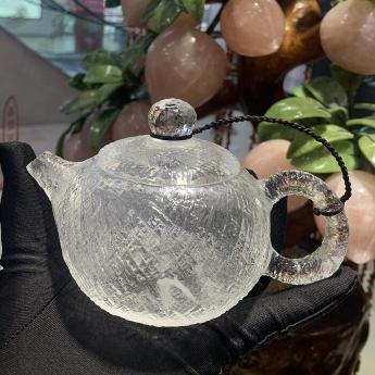 巴西(BRA)水晶矿提纯原石茶壶(礼盒#13)35103161