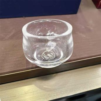 巴西(BRA)水晶矿提纯撇口小茶杯(LAPC饮水思源)35102612